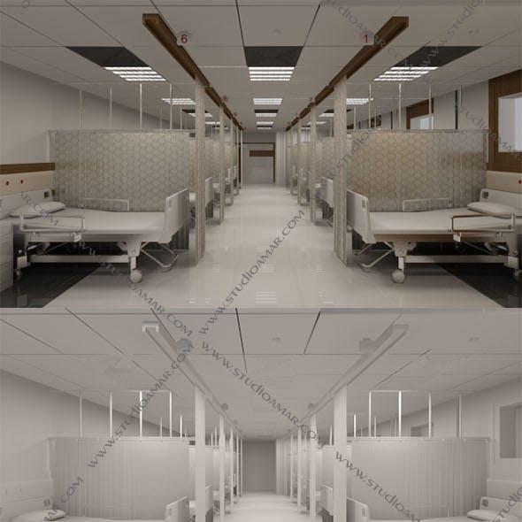 Realistic hospital interior 143