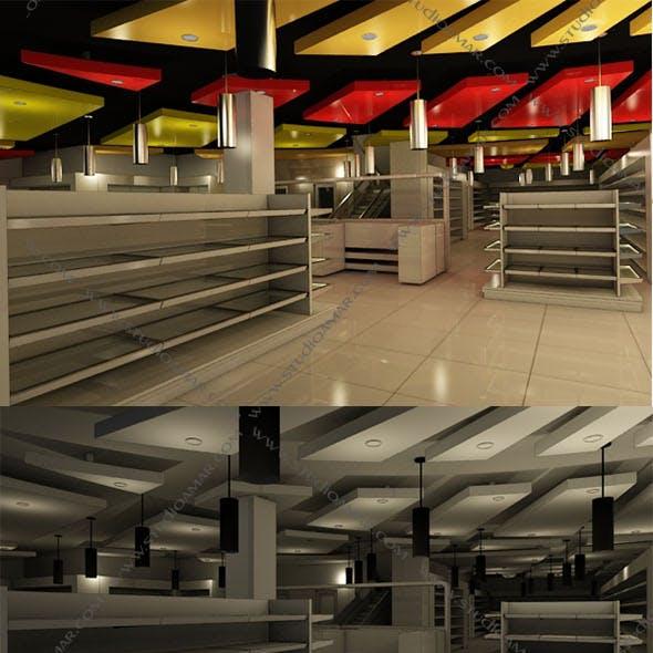 Realistic Retail supermarket 144