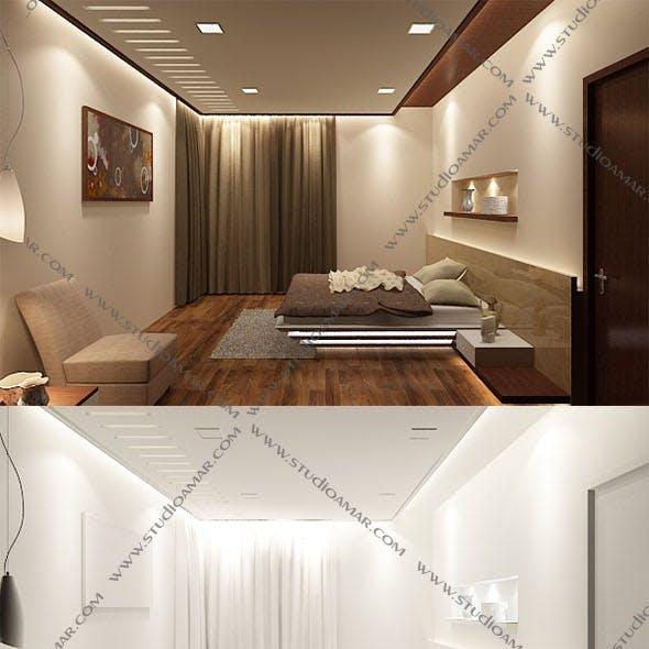 Modern bedroom 145
