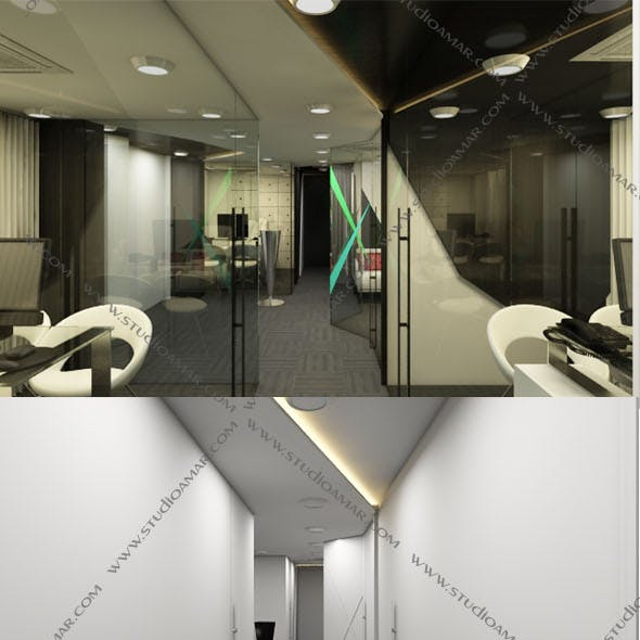 Realistic workspace 3D 151
