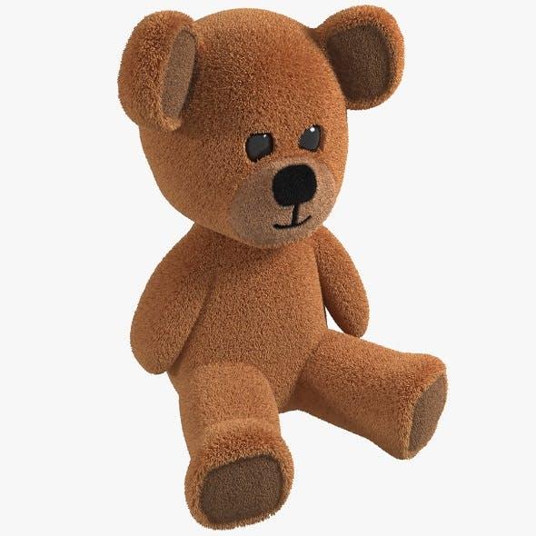 Toy Teddy Bear fur soft