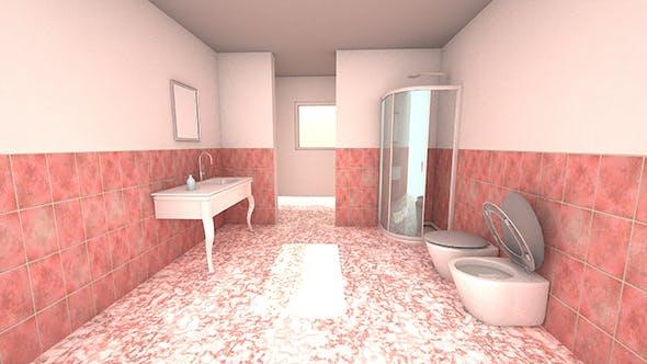 Bathroom and window - 3DOcean Item for Sale