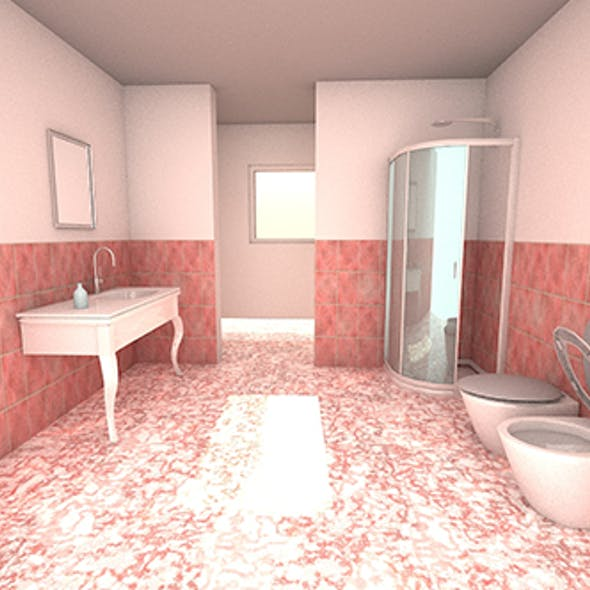 Bathroom and window