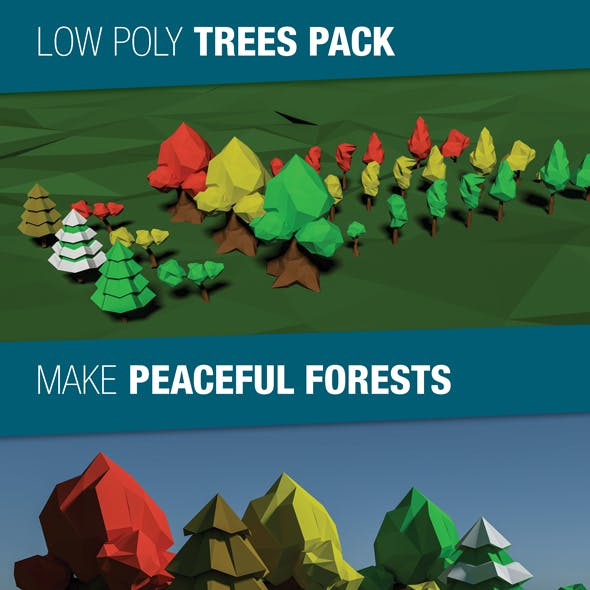 Low Poly Trees Pack