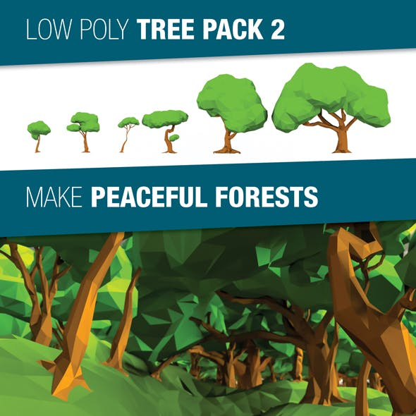 Low Poly Tree Pack 2