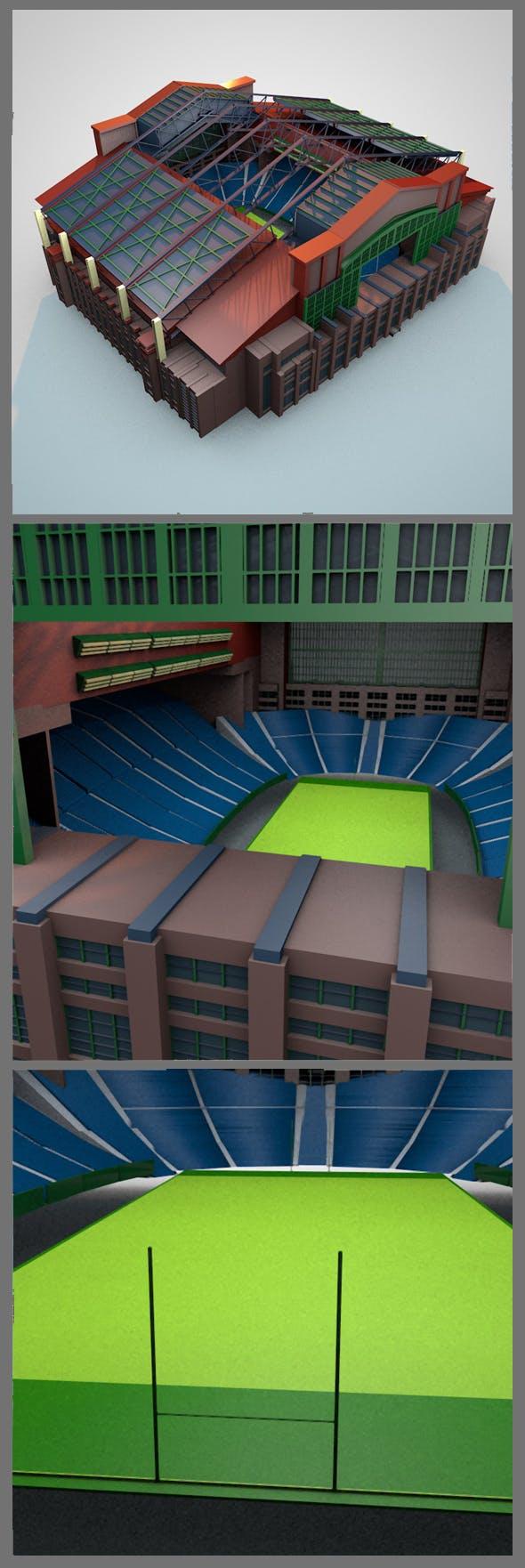 Lucas Oil Stadium - 3DOcean Item for Sale