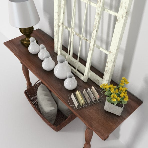 Provence console with windows