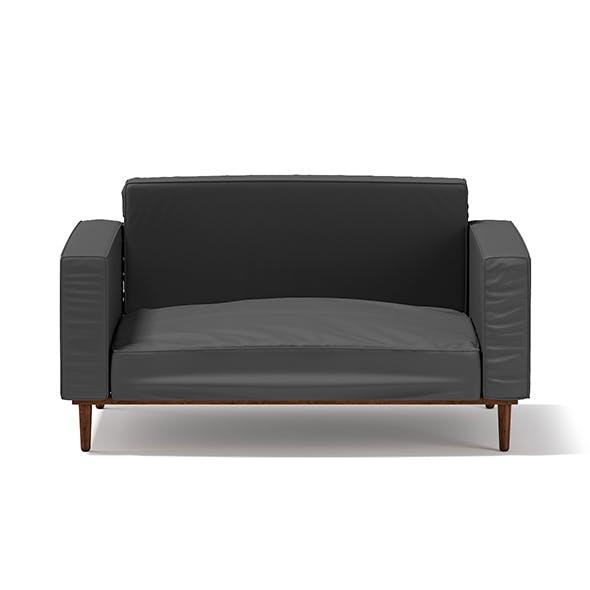 Dark Grey Armchair - 3DOcean Item for Sale