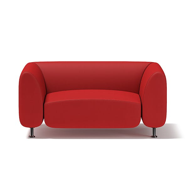 Red Armchair - 3DOcean Item for Sale