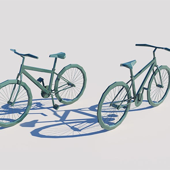 Lowpoly Bicycle 001