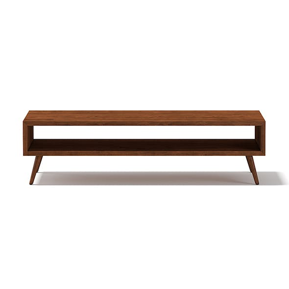 Rectangular Wooden Coffee Table - 3DOcean Item for Sale