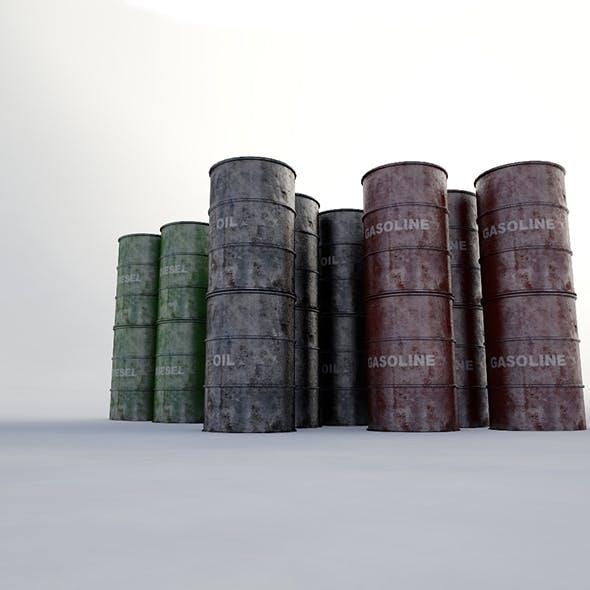 Metallic Barrels