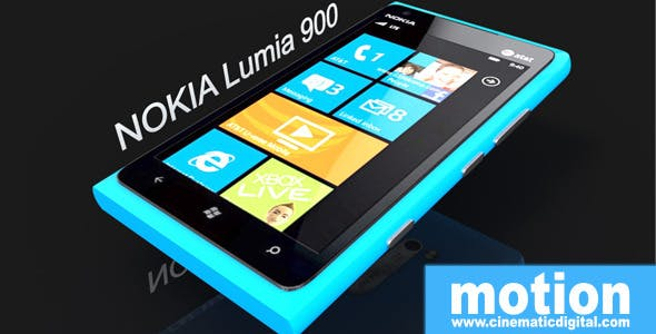 Nokia Lumia 900 - 3DOcean Item for Sale
