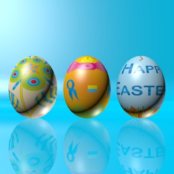 Easter Eggs Set 02