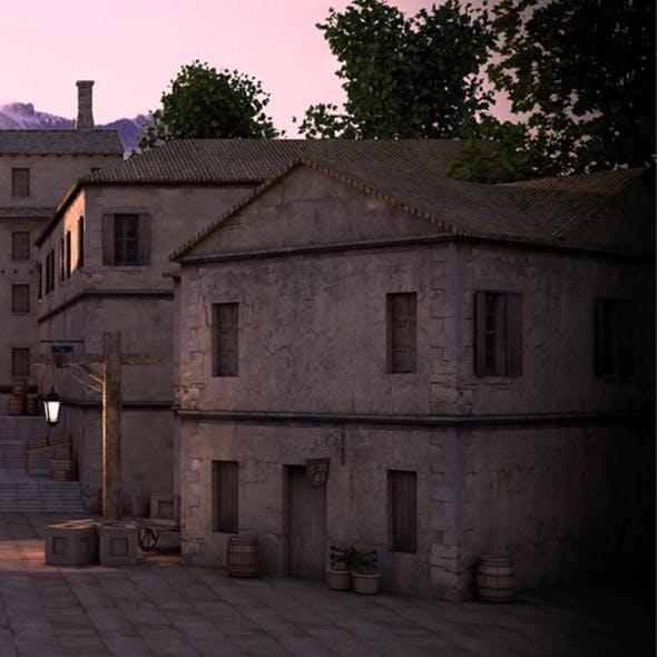 Old Town Set
