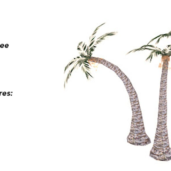 Palms - Low Polygonal Trees Set 1