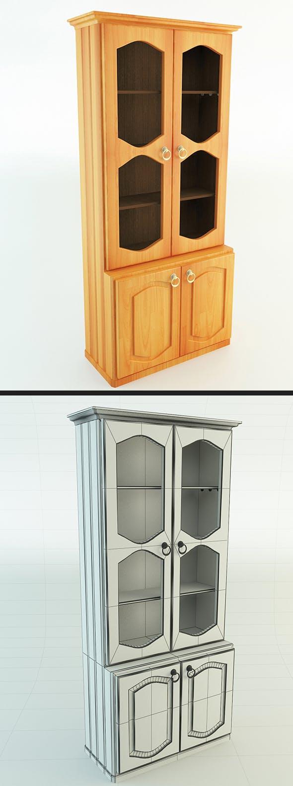 Display Cabinet - 3DOcean Item for Sale