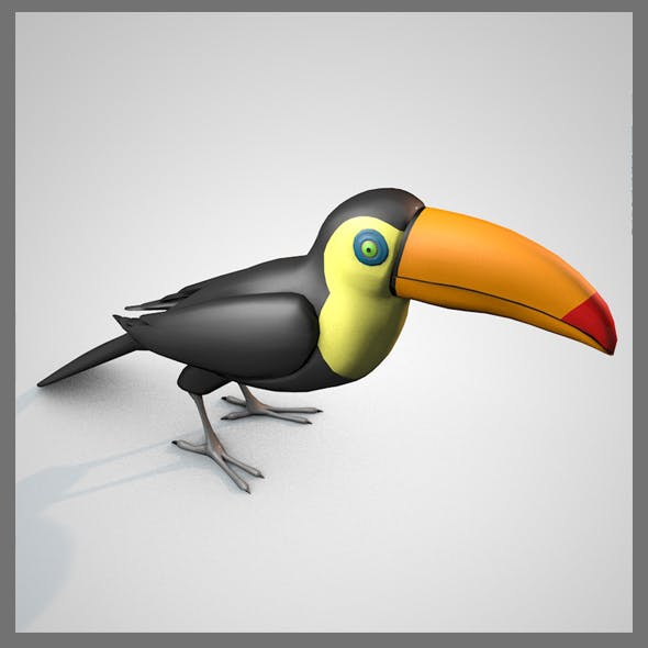 Toucan - 3DOcean Item for Sale