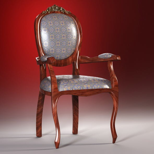 High quality model of classic chair