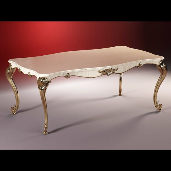 High quality model of classic table Ceppi Style - 3DOcean Item for Sale