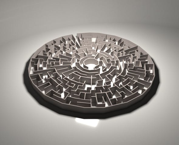 3D Maze - 3DOcean Item for Sale