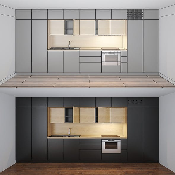 Kitchen vol.01 - 3DOcean Item for Sale