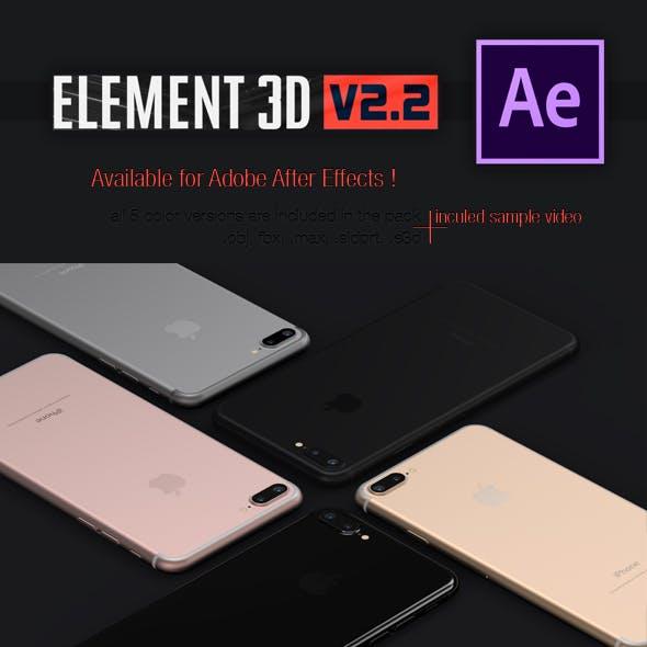 iPhone 7 Plus - Element3D