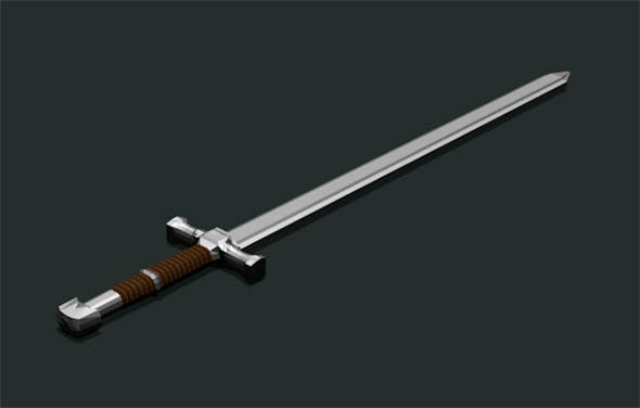 Two-handed Sword - 3DOcean Item for Sale
