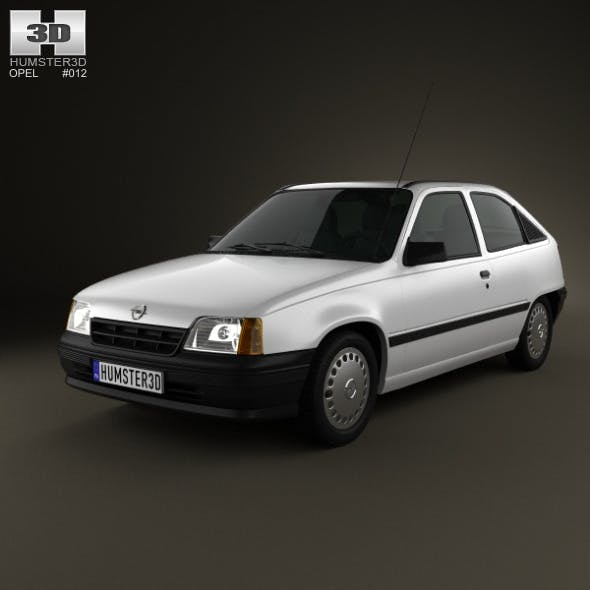 Opel Kadett E Hatchback 3-door 1984-1991