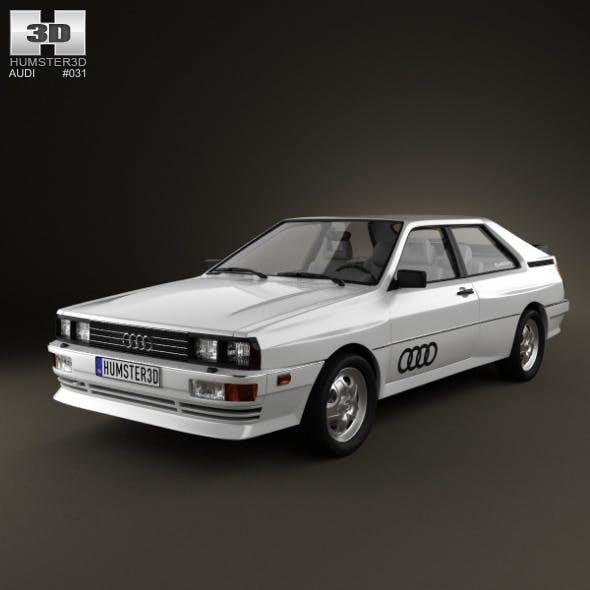 Audi Quattro 1980 - 3DOcean Item for Sale