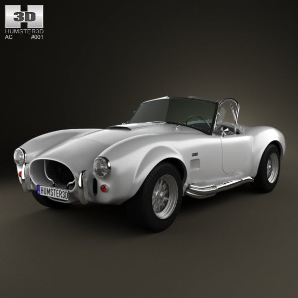 AC Shelby Cobra 427 1965 - 3DOcean Item for Sale