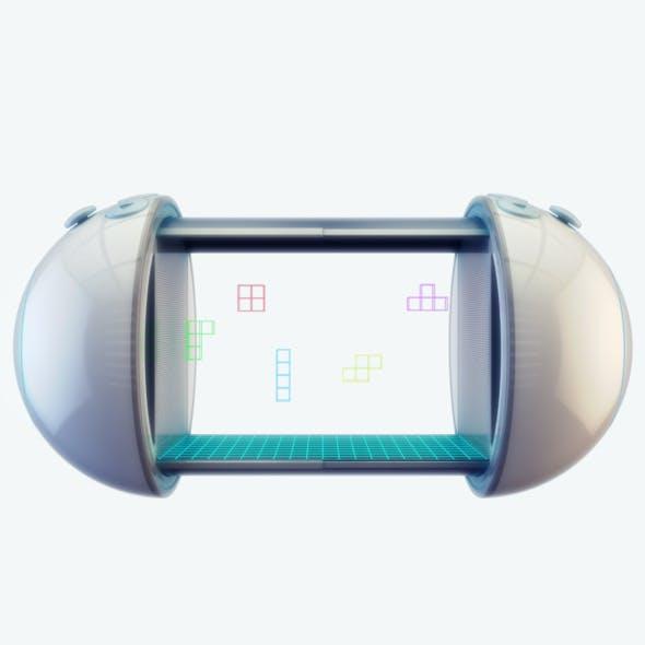 3d console, concept device - 3DOcean Item for Sale