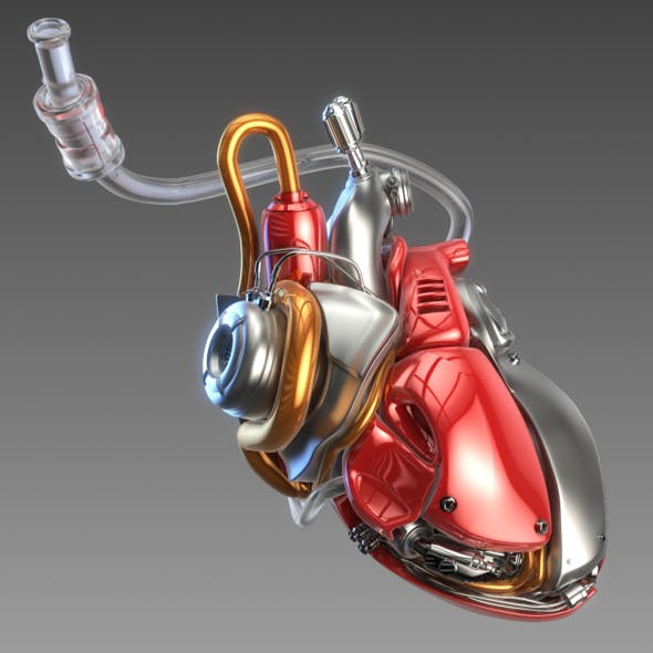 Artificial cyber heart