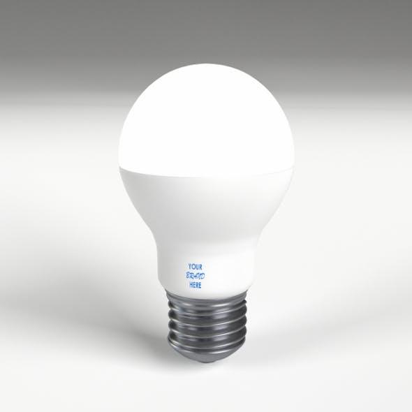 LED - Fluorescent light bulb lamp 2 - 3DOcean Item for Sale