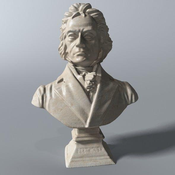 Beethoven Bust - 3DOcean Item for Sale