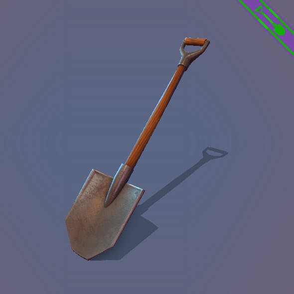 Game ready Shovel