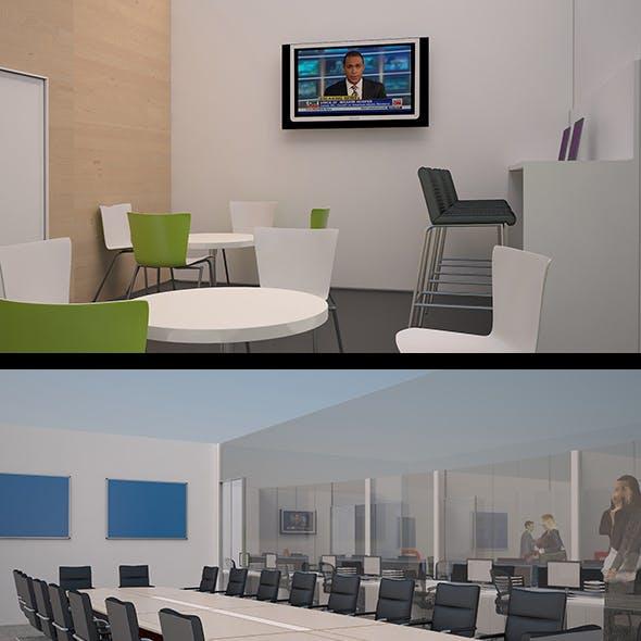3D Walk through in Office Environment