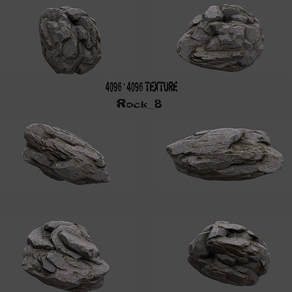 Rock_8 - 3DOcean Item for Sale