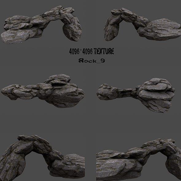 Rock_9 - 3DOcean Item for Sale