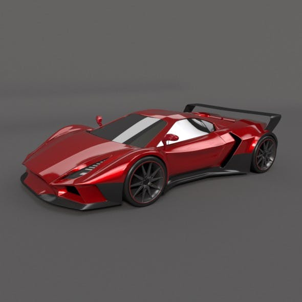 Arrowon racing car concept