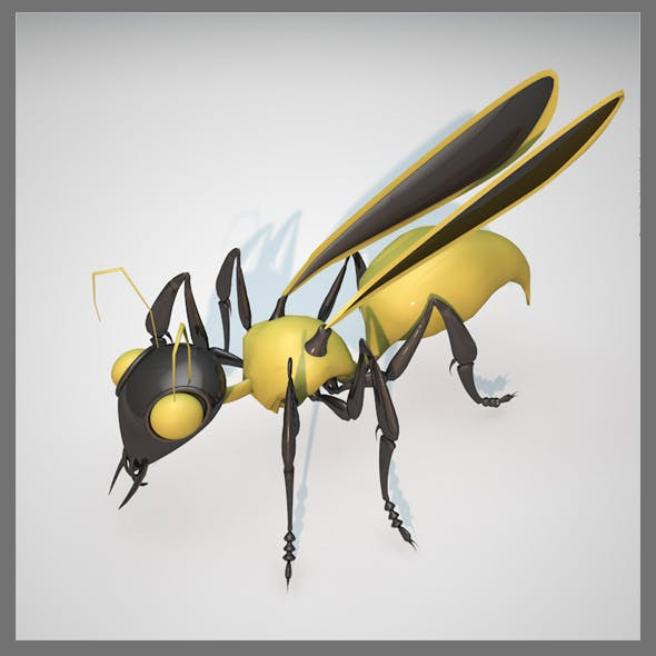Wasp - 3DOcean Item for Sale