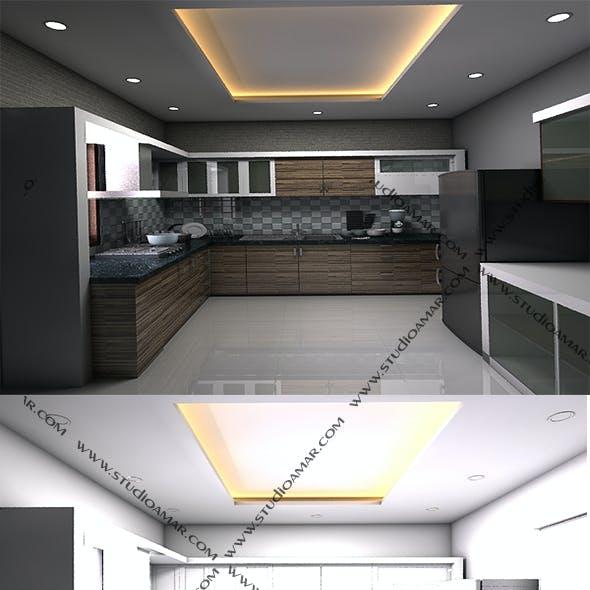 Classic Modular Kitchen - 161