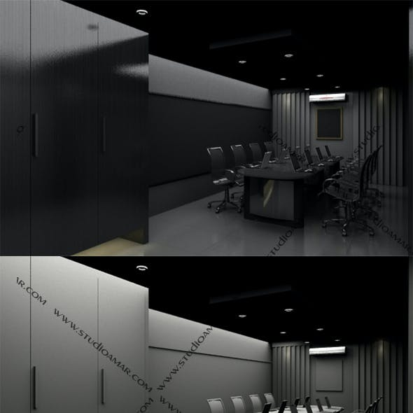 Realistic Conference room 165