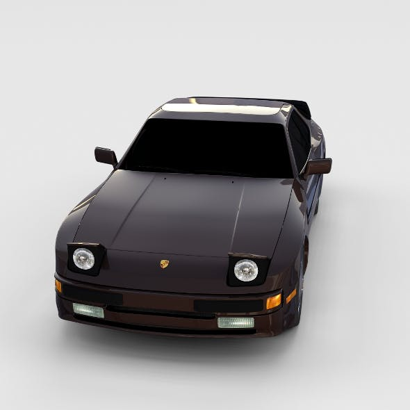 Porsche 944 S rev - 3DOcean Item for Sale