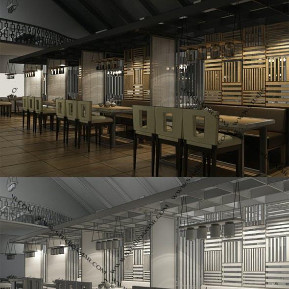 Classic Restaurant interior 169