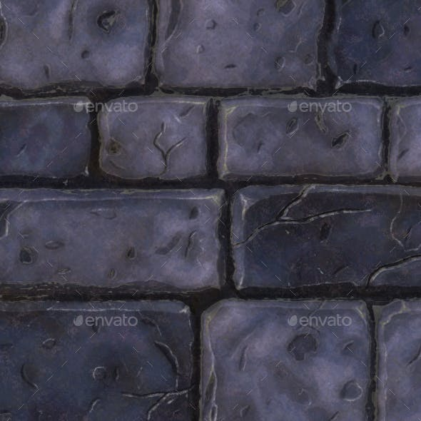 Mossy Brick Texture - 3DOcean Item for Sale