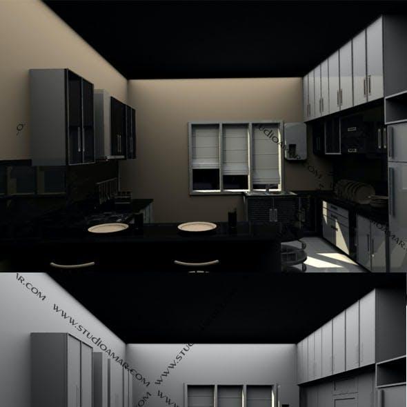 Classic Modular kitchen 181