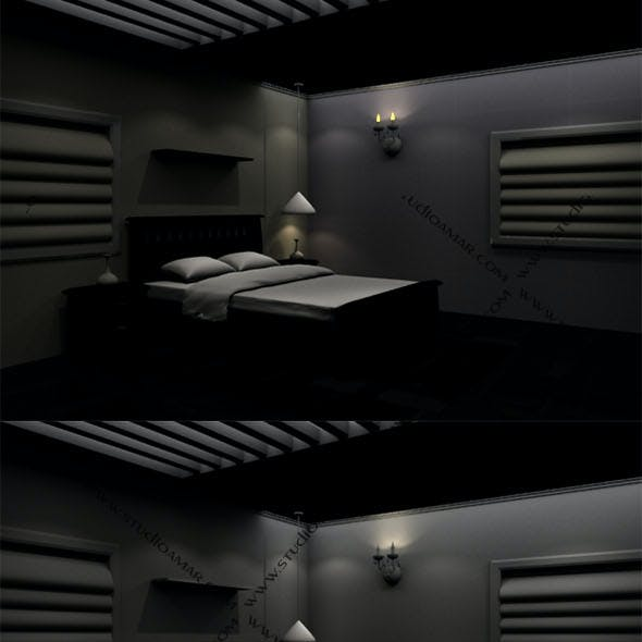 Realistic Bedroom design 183