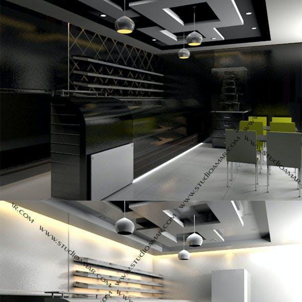 Realistic Bakery  Interior 184