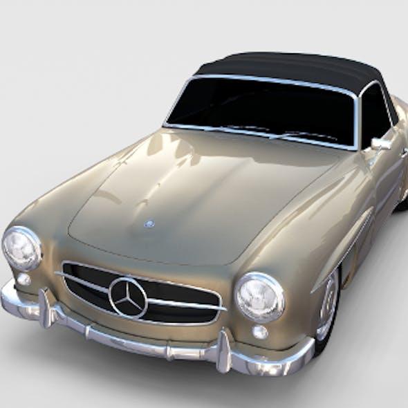 Mercedes 190SL Soft Top rev